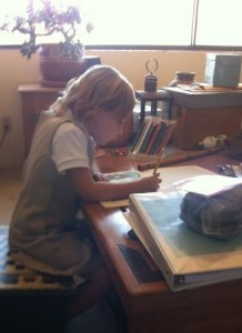 Does the writing obsession start early?